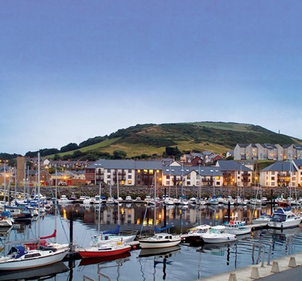 Y Lanfa, Aberystwyth Marina, Aberystwyth